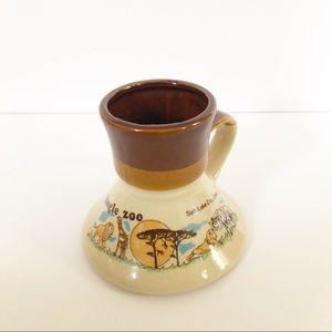 Vintage Hogle Zoo Ceramic Travel Mug